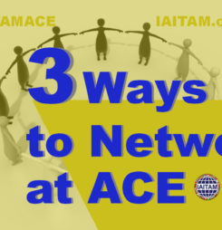 "3 Ways to ""Be"" Networking at the IAITAM European ACE"