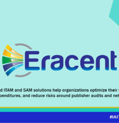 Thank you Eracent, Platinum Sponsor at the IAITAM ACE!